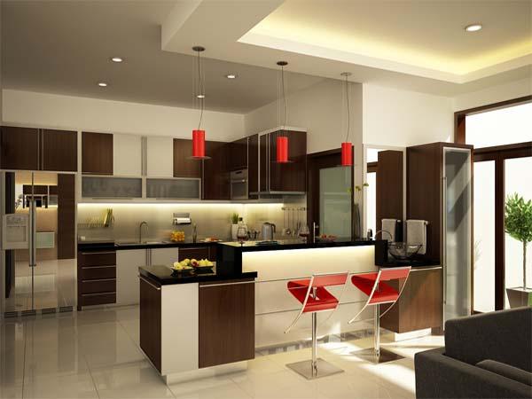11 maneras para la decoración del interior de tu cocina ...