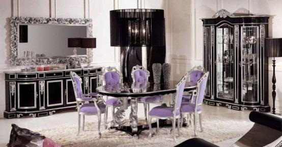 Comedores clásicos de lujo por Módena Gastone | Arkihome