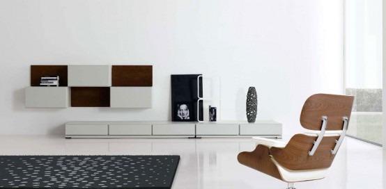 Modernos dise os minimalistas para su sala de estar por for Minimalismo moderno