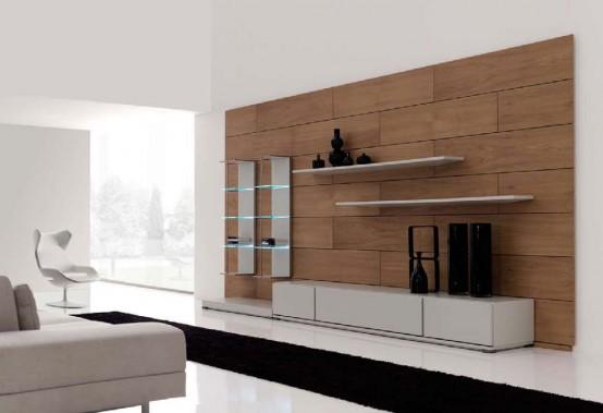 Modernos dise os minimalistas para su sala de estar por for Salas minimalistas