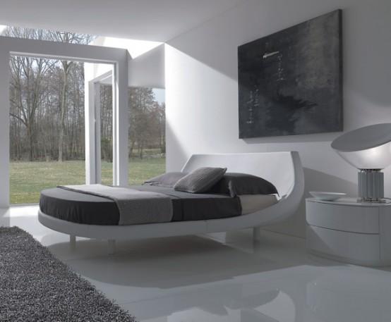 20 modelos de camas de estilo contemporáneo italiano por fimes ...