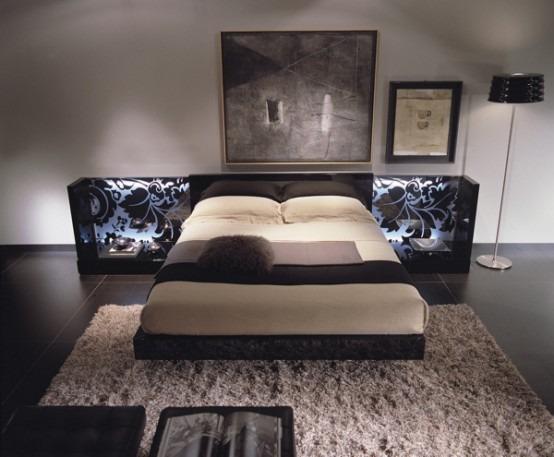 20 modelos de camas de estilo contempor neo italiano por - Camas de diseno italiano ...