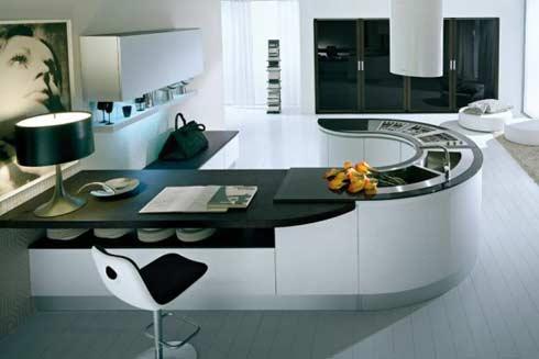 Dise o de cocinas circulares por pedini arkihome for Cocinas super modernas