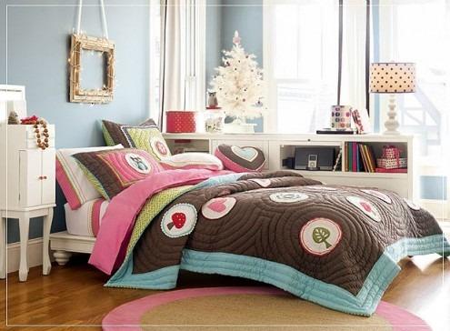 Habitaciones o dormitorios para chicas adolescentes arkihome for Disenos de cuartos para ninas adolescentes