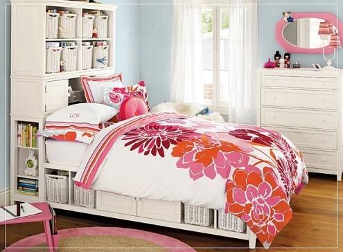 Habitaciones o dormitorios para chicas adolescentes Arkihome