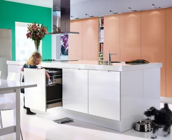 Ideas de dise o comedor cocina y muebles por ikea 2010 for Diseno de cocinas ikea