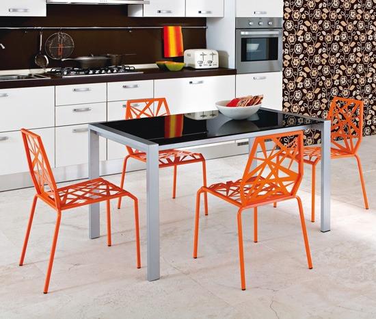 Modernas y brillantes 22 sillas de cocina por domitalia - Sillas para cocinas modernas ...