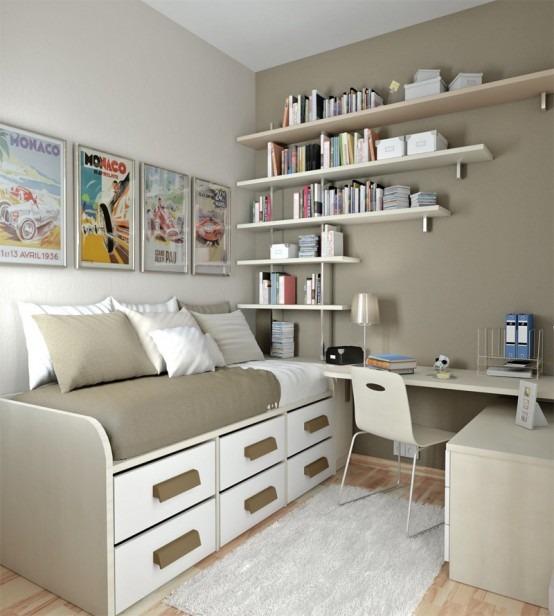50 diseños inspiradores para el dormitorio de su hijo adolescente ...