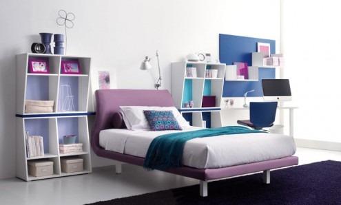 Habitaciones contemporáneas para niños y adolescentes por Tumidei ...