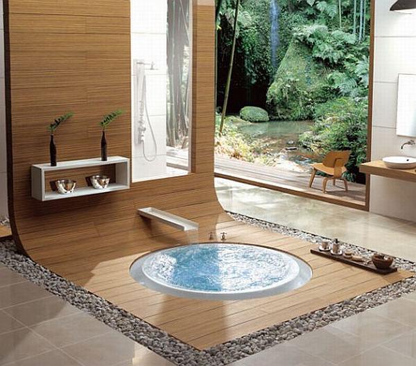 30 ideas de diseño, bellas y relajantes, para su cuarto de baño ...