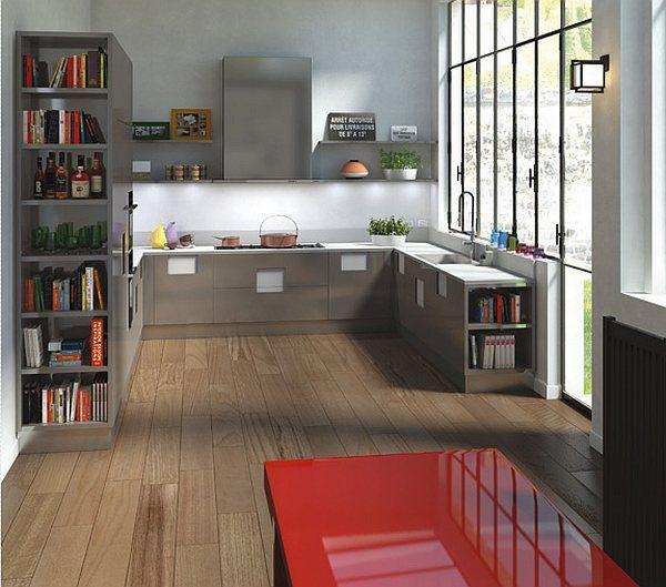 25 diseños de la cocina moderna | Arkihome