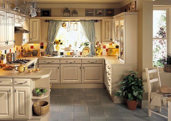 25 dise os tradicionales e inspiradores para la cocina for Cocinas tradicionales