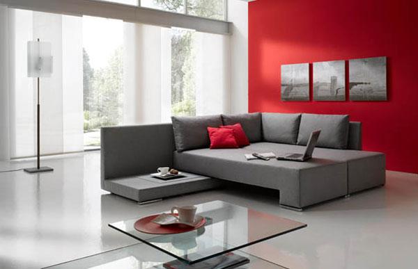 Mueble convertible de sof a cama arkihome for Mueble divan cama