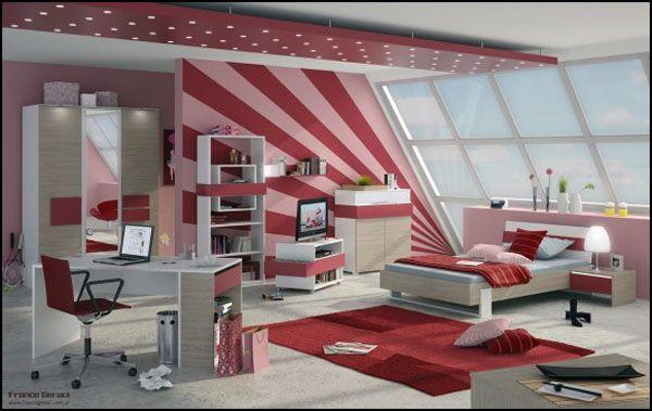 25 ideas de diseo de habitaciones para chicas adolescentes Arkihome
