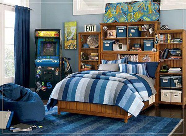 25 ideas de dise o de habitaciones para chicos adolescentes arkihome - Decoracion habitacion juvenil masculina ...