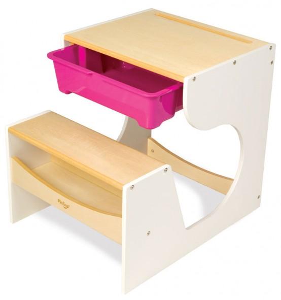 17 mesas para ni os especiales para la pintura y - Mesas pequenas para ninos ...