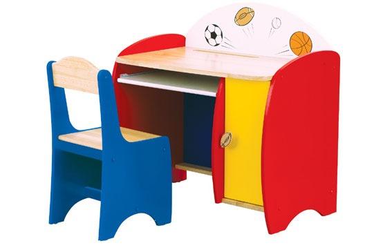 17 mesas para ni os especiales para la pintura y for Escritorios de ninos