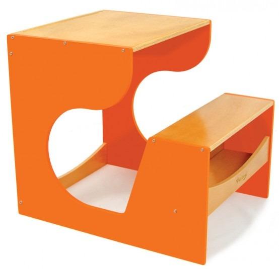 17 mesas para ni os especiales para la pintura y for Muebles flat pack