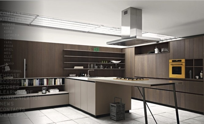 Cocinas modernas de c sar arkihome - Cocinas espectaculares modernas ...