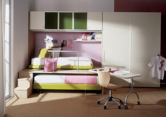 Dise os de dormitorios de ni os del dise ador mariani for Disenador virtual de habitaciones
