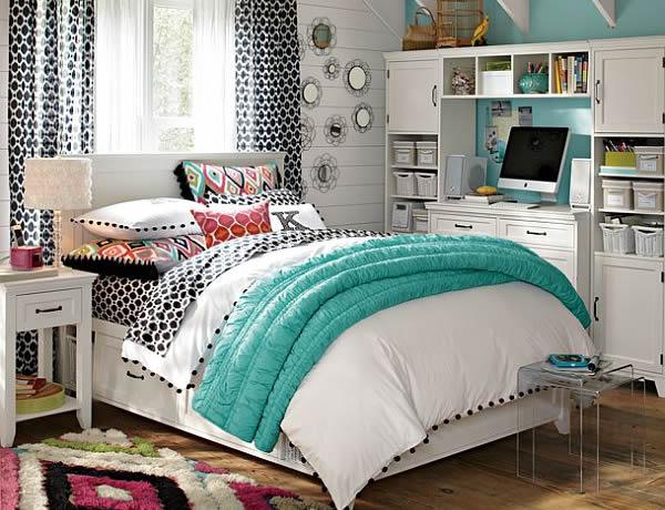 55 habitaciones juveniles modernas para mujeres - Habitaciones juveniles de chicas ...