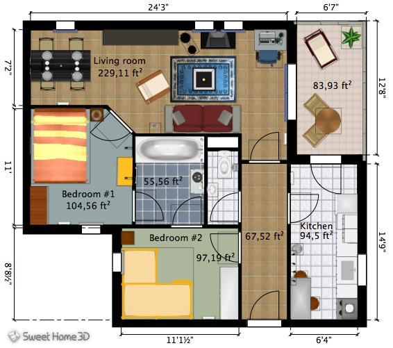 10 programas de dise o de interiores gratis arkihome for Programas de 3d para arquitectos