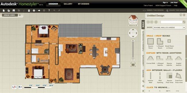 10 programas de dise o de interiores gratis arkihome for Disenar mi casa en 3d gratis