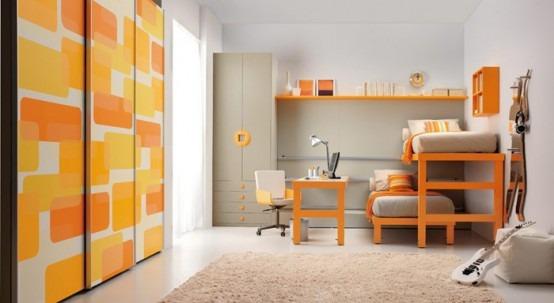Habitaciones con camas dobles para ni os por tumidei - Camas infantiles dobles ...