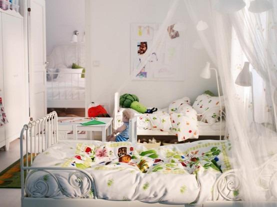 33 ideas maravillosas para el dise o de habitaciones - Habitaciones infantiles dobles ...
