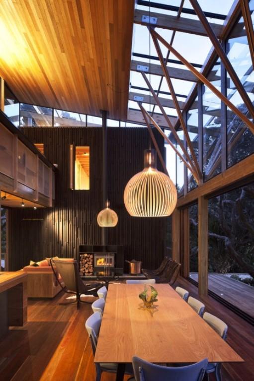 Casa Moderna De Madera Arkihome